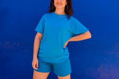 Camiseta My Favorite Color is BLUE - comprar online