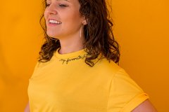 Camiseta My Favorite Color is YELLOW