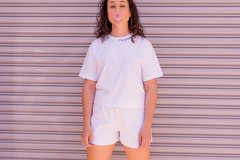 Camiseta My Favorite Color is WHITE - loja online