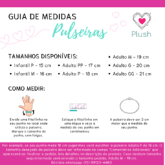 Pulseira Estilista Fashion - Amo Plush