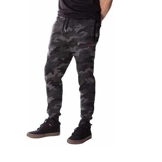 Pantalon Buzo Rusty Uzpa Negro Camuflado Indy
