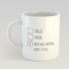 Caneca Mentally Dating Harry Styles