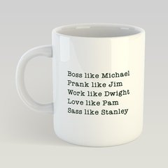 Caneca The Office Personagens