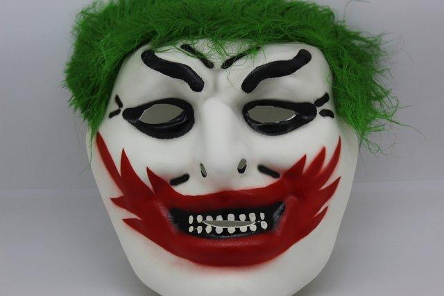 Mascara Palhaco Parecida Coringa De Eva Carnaval Cosplay