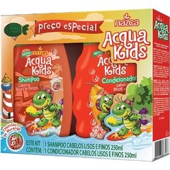 Kit Shampoo + Condicionador Acqua Kids Lisos e Finos 250ml
