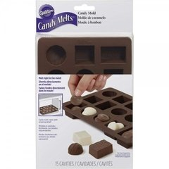 Molde de silicona para chocolate Candy Melts(TM) Wilton®