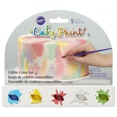 Set de 5 pinturas comestibles Cake Paint(TM) Wilton®