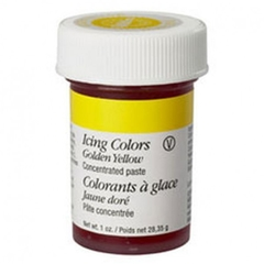 Colorante en pasta amarillo dorado (Golden Yellow) Wilton®