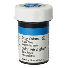 Colorante en pasta azul real (Royal Blue) Wilton®