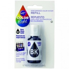 Repuesto de Color Right System(TM) Negro basico Wilton® 19 ml
