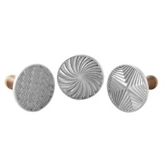 Set de 3 cookie stamps Geo Cast Nordic Ware®
