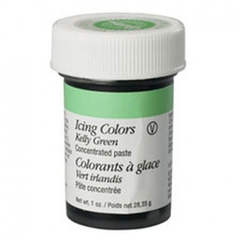 Colorante en pasta verde kelly (Kelly green) Wilton®