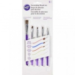 Set de 5 pinceles para decorar Wilton®