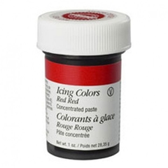Colorante en pasta rojo intenso (Red red) Wilton®