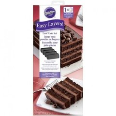 Moldes rectangulares set de 4 Easy Layer Wilton®