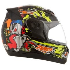 Capacete Evolution 788 G4 Monster - preto 60