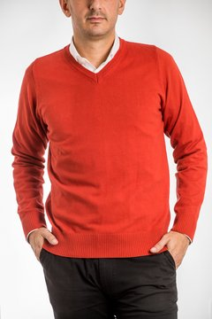 Sweater de Hilo Rojo