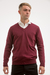 Sweater Cuello en V Wine