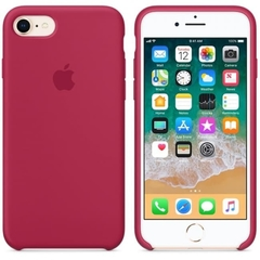 SILICONE CASE IPHONE 7/8 ROSE RED