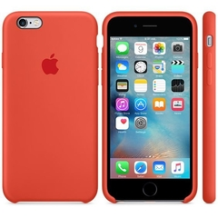 SILICONE CASE IPHONE 7/8 ORANGE