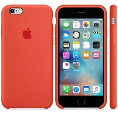 SILICONE CASE IPHONE 6/6S ORANGE