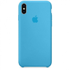 SILICONE CASE IPHONE XS MAX BLUE