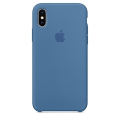SILICONE CASE IPHONE X / XS DENIM BLUE