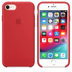 SILICONE CASE IPHONE 7/8 RED