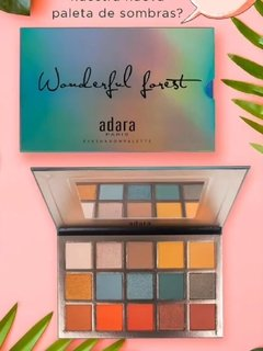 Sombras Wonderful Forest Adara Paris Paleta Wonderful Forest - comprar en línea