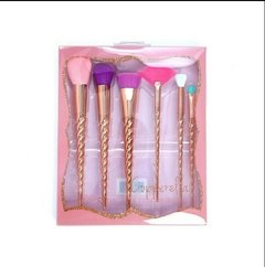 Brochas Beauty Creations Unicornio Rose Gold Colores