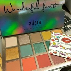 Sombras Wonderful Forest Adara Paris Paleta Wonderful Forest en internet