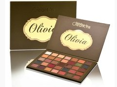 Sombras Olivia Beauty Creations Paleta Sombras Olivia Beauty