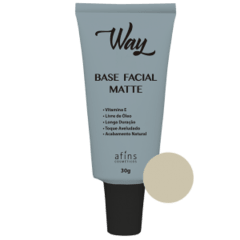 Base Facial Matte Way Natural - 30g