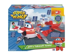 Super Wings Jett Se Transforma en Aeropuerto