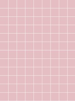 estampa grid rosa