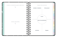 Planner Anual Grid Branco
