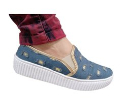 Slip On Jeans Desfiado Destroyer