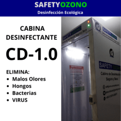 Cabina Desinfectante CD-1.0 (para Ingresos de Personas). en internet
