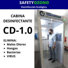 Cabina Desinfectante CD-1.0 (para Ingresos de Personas).