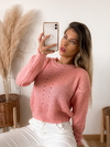 Sweater amplio calado Bellalong en internet