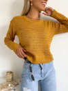 Sweater con lineas horizontales Magdalena