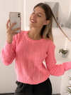 Sweater full trenza Marbella en internet
