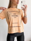 Remera estampada N°5 Channel - comprar online