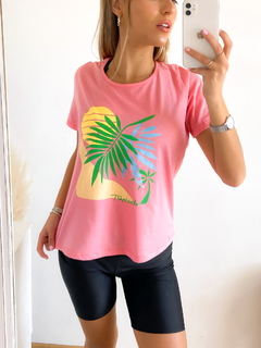 Remera estampada Tropicals - BENKA