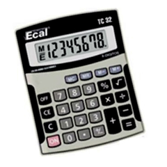 CALCULADORA ECAL TC 32