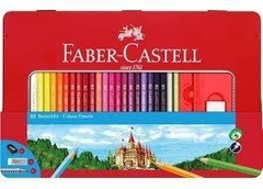 LAPIZ COLOR FABER LATA X 48