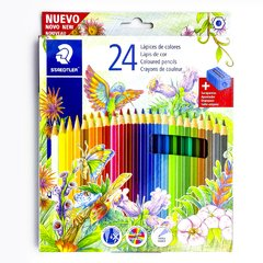 LAPIZ COLOR STAEDTLER X 24 LARGOS y SAC
