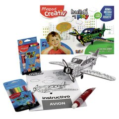 SET MAPED BUILD PLAY AVION - comprar online