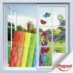 MARCADOR MAPED COLOR PEPS WINDOW X6 - comprar online