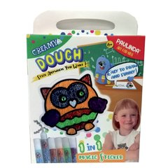 MASA PAULINDA CREAMY DOUGH MAGIC STICKER OWL